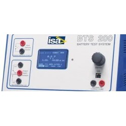 ISA BTS 200 Battery Test...