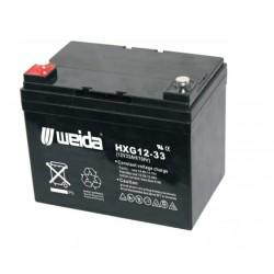 WEIDA HXG12-33 (12V, 33Ah)